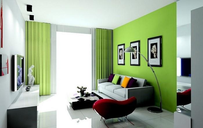 Grünes-Wohnzimmer-Design-Ein-verblüffendes-Interieur