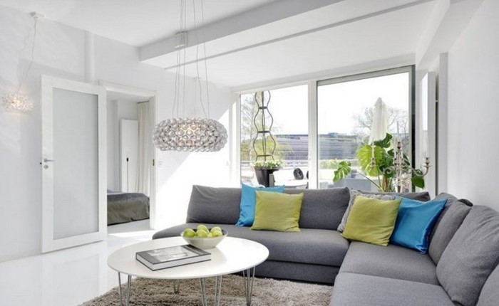grünes wohnzimmer design ~ surfinser.com - Wohnzimmer Design Tipps