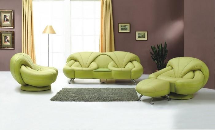 Grünes-Wohnzimmer-Design-Eine-coole-Ausstrahlung