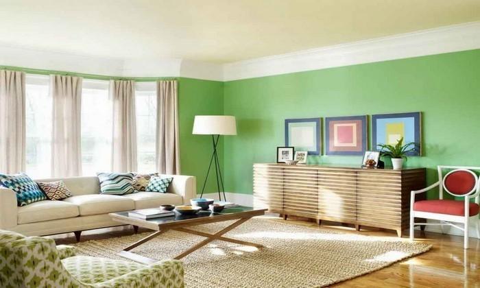 Grünes-Wohnzimmer-Design-Eine-coole-Gestaltung