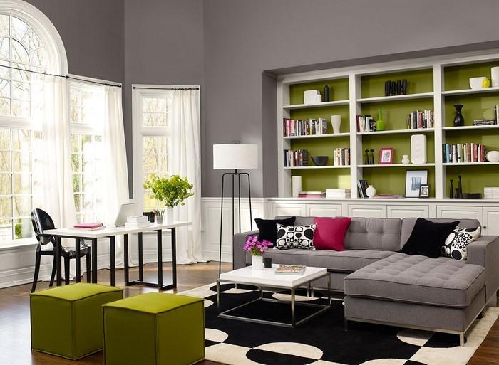 Grünes-Wohnzimmer-Design-Eine-kreative-Gestaltung