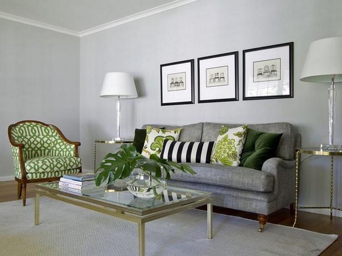 Wohnzimmer Grün Streichen: Grüntöne wandfarbe 40 super vorschläge ...