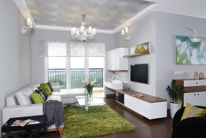 Gr nes wohnzimmer design 76 tolle tipps und tricks - Tolle wohnzimmer ...