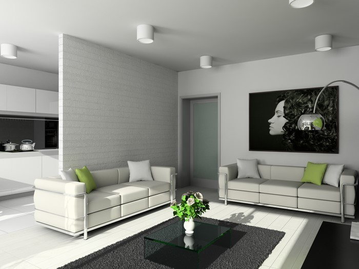 gr nes wohnzimmer design 76 tolle tipps und tricks. Black Bedroom Furniture Sets. Home Design Ideas