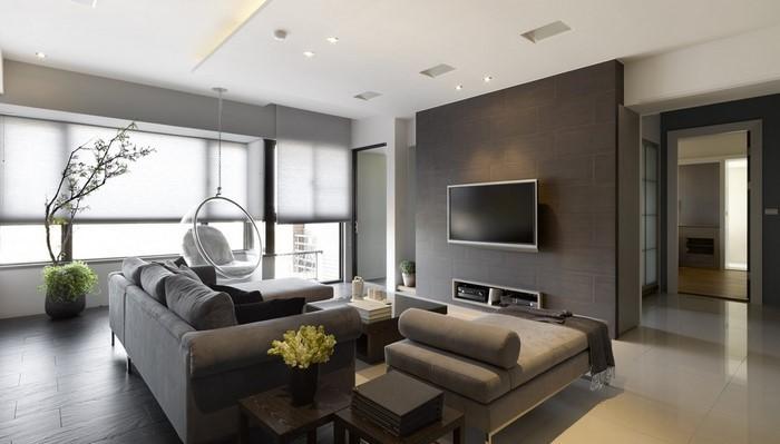 grünes wohnzimmer design: 76 tolle tipps und tricks - Wohnzimmer Design