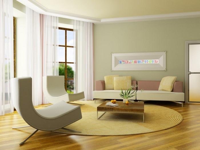 Grünes-Wohnzimmer-Design-Eine-tolle-Gestaltung