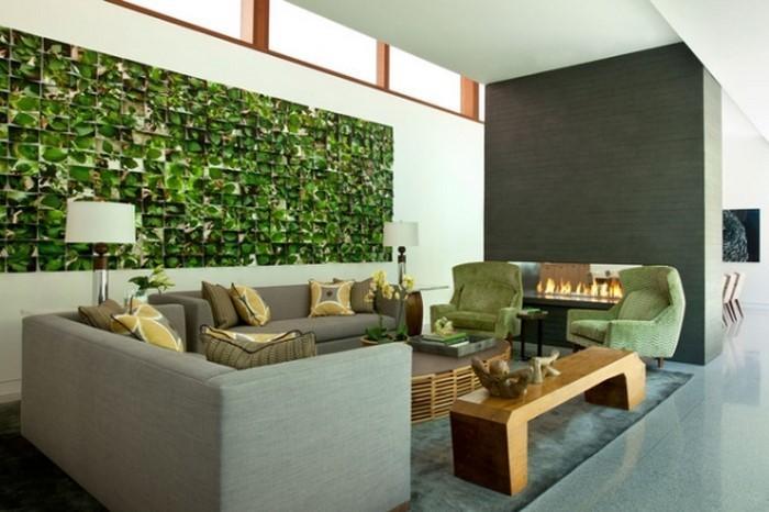 Grünes-Wohnzimmer-Design-Eine-wunderschöne-Dekoration