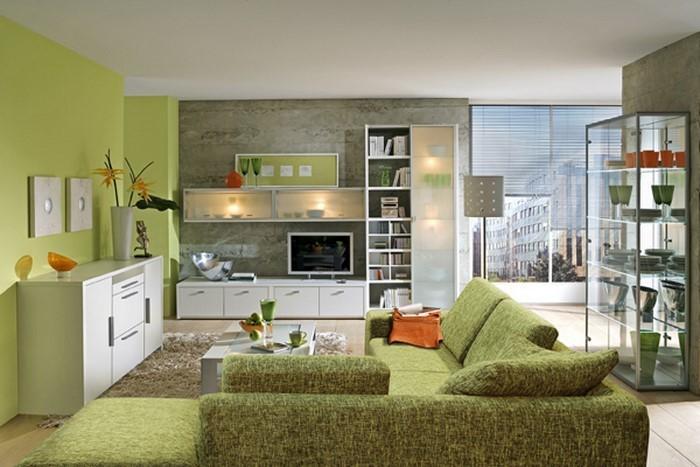 Grünes Wohnzimmer Design: 76 Tolle Tipps Und Tricks ...