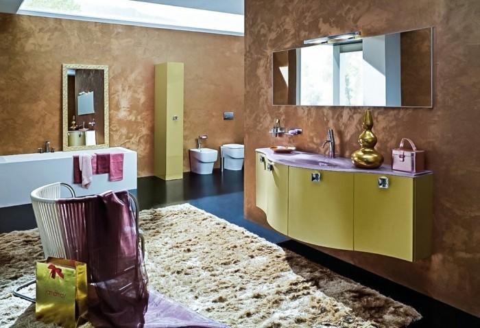 Italienische Fliesen Badezimmer : außergewöhnliches Design von Badezimmer mit italienischen Fliesen
