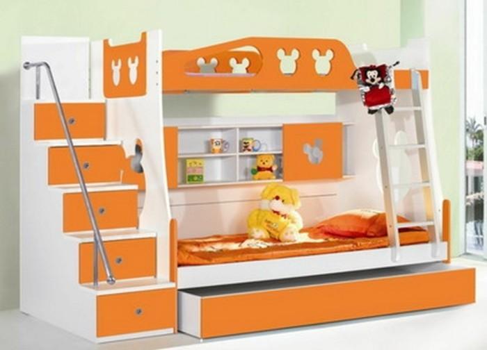 Kinderzimmer-Ideen-Hochbett-mit-Treppen