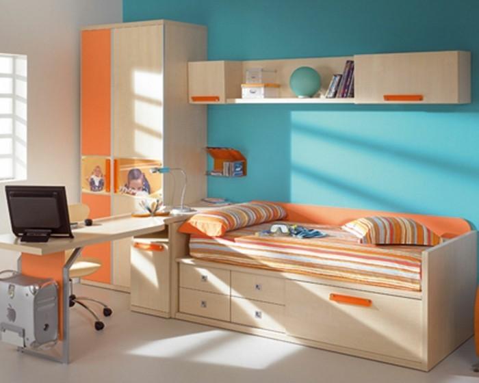 Kinderzimmer-Ideen-mit-Fotos-am-Schrank