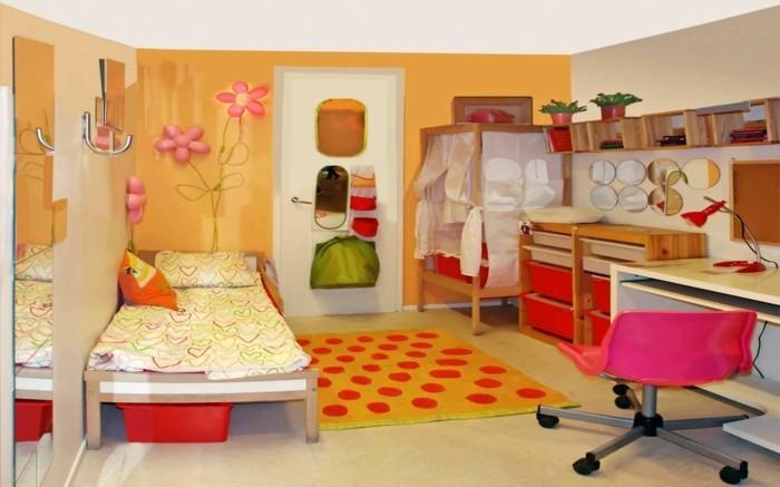 Kinderzimmer-Ideen-mit-Kerzen-und-Blumen
