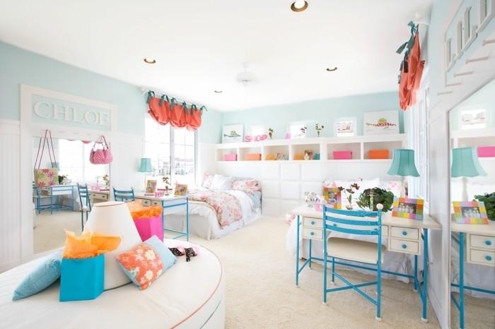 Kinderzimmer-Ideen-mit-einem-Spiegel
