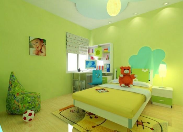 Kinderzimmer-Ideen-mit-kleinen-Schreibtisch