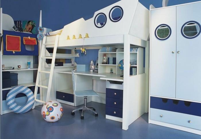 Kinderzimmer-Junge-wie-ein-Schiff