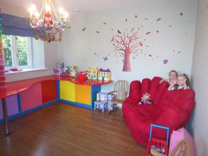 Kinderzimmer-Mädchen-für-beide-Schwester