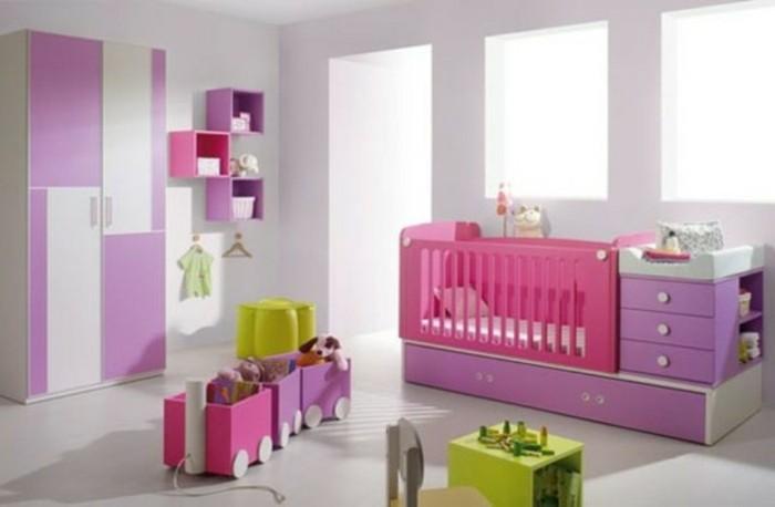 Kinderzimmer-Mädchen-für-das-Baby