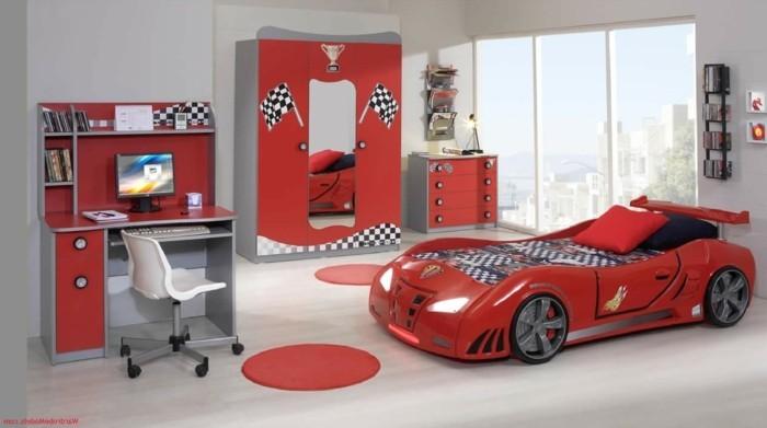 Kinderzimmer gestalten junge auto  Kinderzimmer Junge Auto ~ Kreative Ideen für Design und Wohnmöbel
