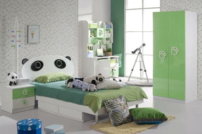 Kinderzimmer-gestalten-mit-Panda-Bett