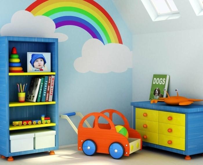 Kinderzimmer-gestalten-mit-dem-Regenbogen