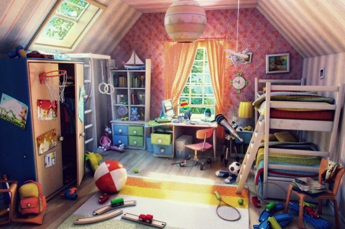 Kinderzimmergestaltung-für-ein-kleines-Zimmer