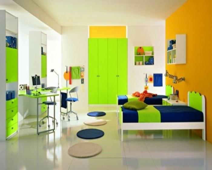 Kinderzimmergestaltung-für-zwei-kleinen-Königen