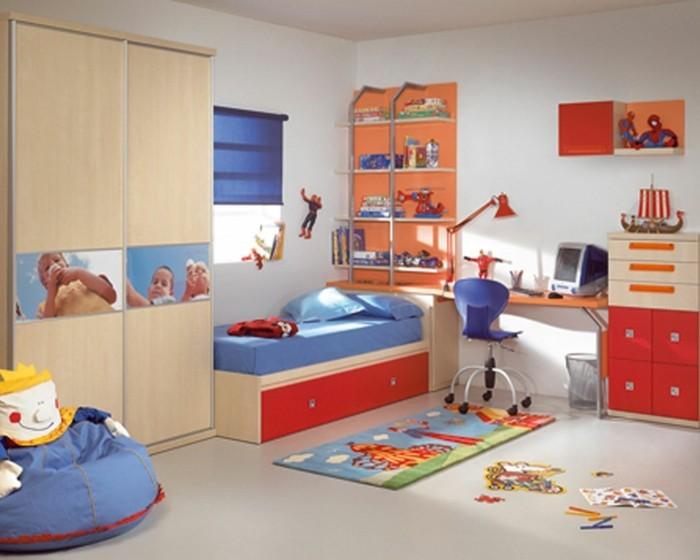 Kinderzimmergestaltung-mit-Motive-von-Spiderman