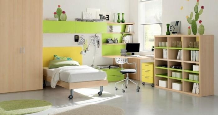 Kinderzimmergestaltung-mit-Motive-wie-Kaktus