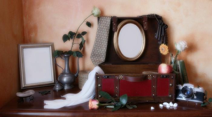 Kreative-Bilderrahmen-in-vintage-Stil