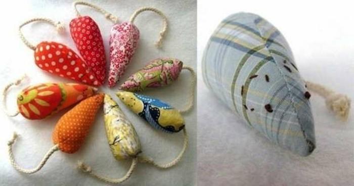 Mäuse-basteln-in-verschiedenen-Farben