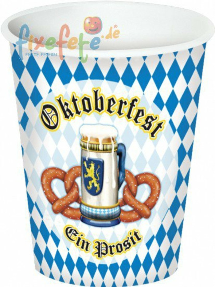 oktoberfest deko f r eine thematische feier. Black Bedroom Furniture Sets. Home Design Ideas