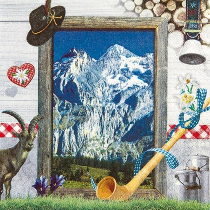 Oktoberfest-Artikel-Servietten-Willkommen-in-den-Alpen