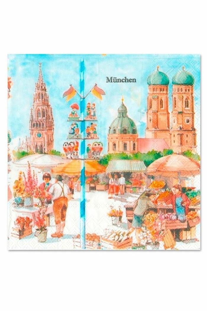 Oktoberfest-Artikel-servietten-motiv-München