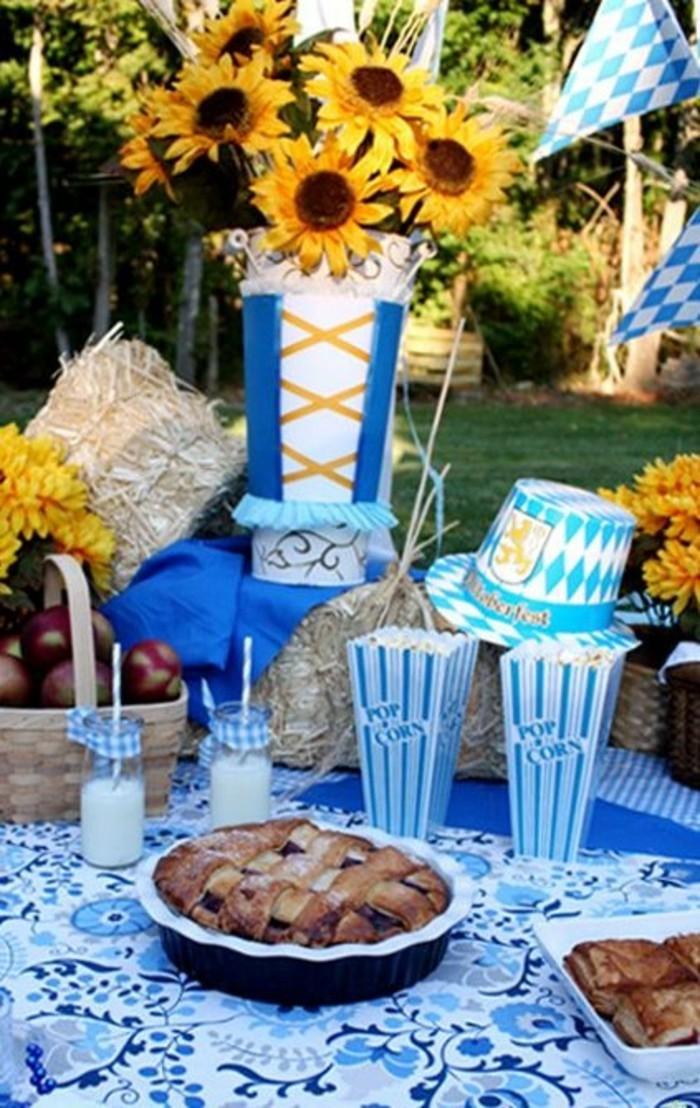 Oktoberfest deko f r eine thematische feier for Bayerische dekoration