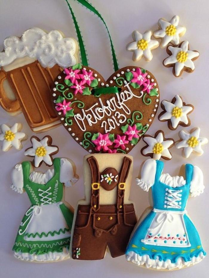 Oktoberfest-Rezepte-einige-dekorierte-Kekse