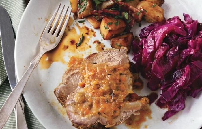 Oktoberfest-Spezialitäten-Steak-und-Kartoffeln