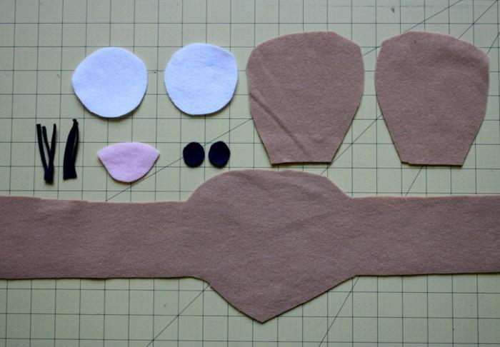 Origami-Maus-falten-aus-Stoff