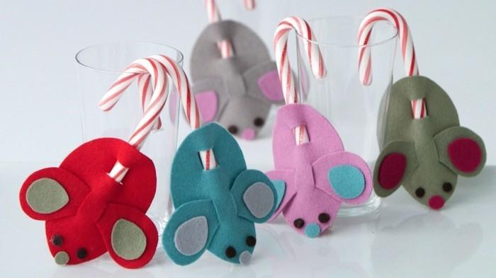 Origami-Maus-falten-mit-Süßigkeiten