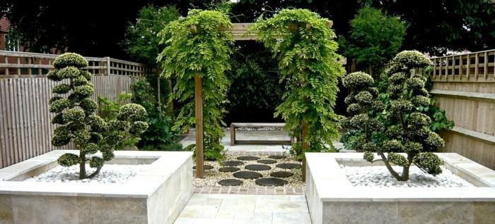 Pergola-garten-design--Zen-Japanese-