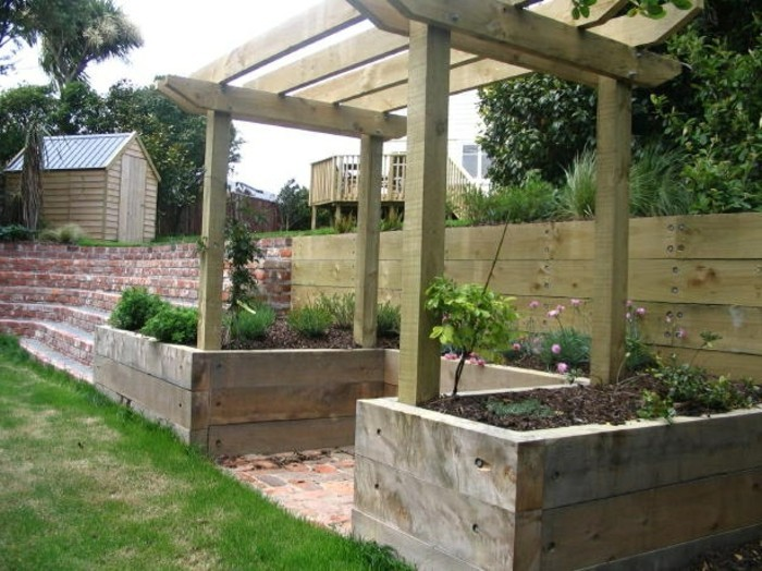 Emejing Pergola Im Garten Ruckzugsort Bluhend Ideas - Barsetka