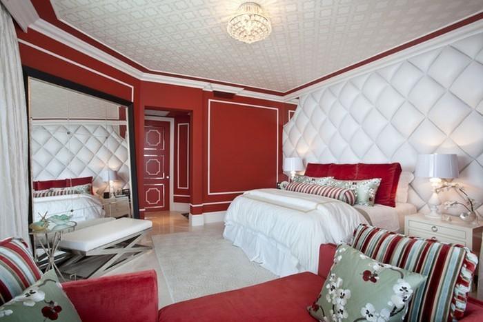 Rotes-Schlafzimmer-Design-Ein-auffälliges-Interieur