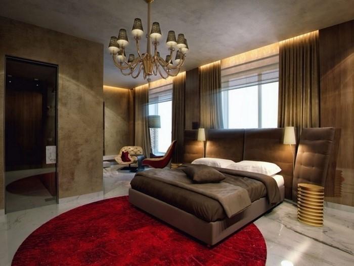 Rotes-Schlafzimmer-Design-Ein-modernes-Interieur