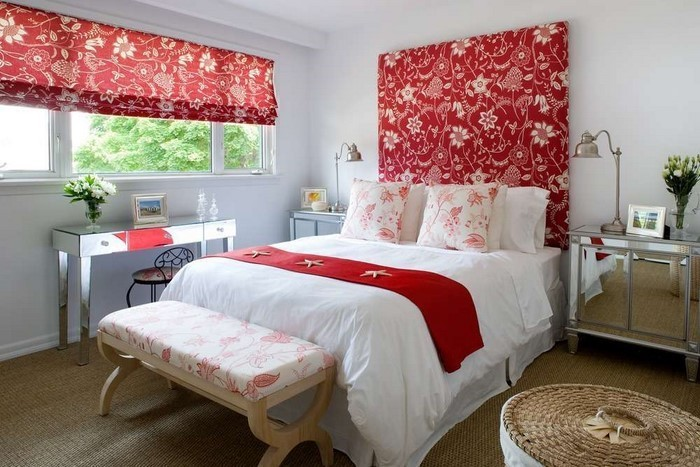 Rotes schlafzimmer design das sinnliche rot - Braunes schlafzimmer ...