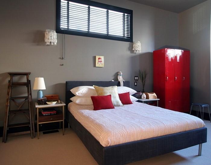 Rotes-Schlafzimmer-Design-Ein-verblüffendes-Interieur
