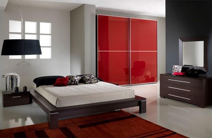 Rotes-Schlafzimmer-Design-Ein-wunderschönes-Design