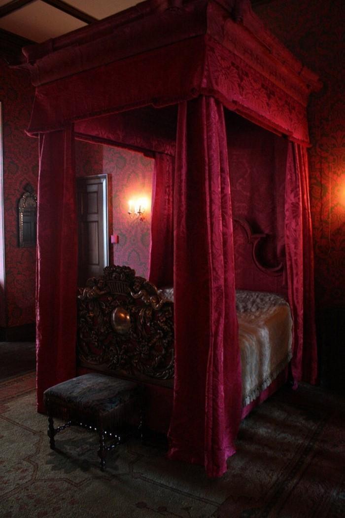 Rotes-Schlafzimmer-Design-Eine-außergewöhnliche-Ausstattung