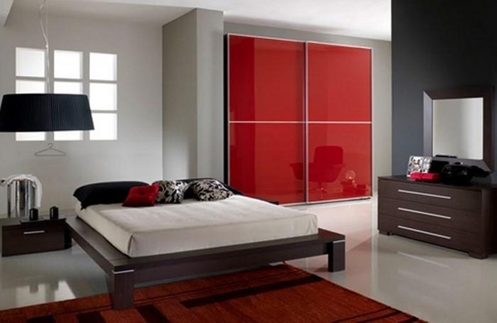 Rotes-Schlafzimmer-Design-Eine-außergewöhnliche-Dekoration