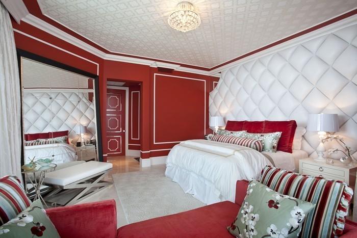 Rotes-Schlafzimmer-Design-Eine-außergewöhnliche-Gestaltung