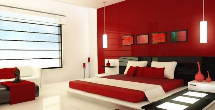 Rotes-Schlafzimmer-Design-Eine-auffällige-Ausstrahlung