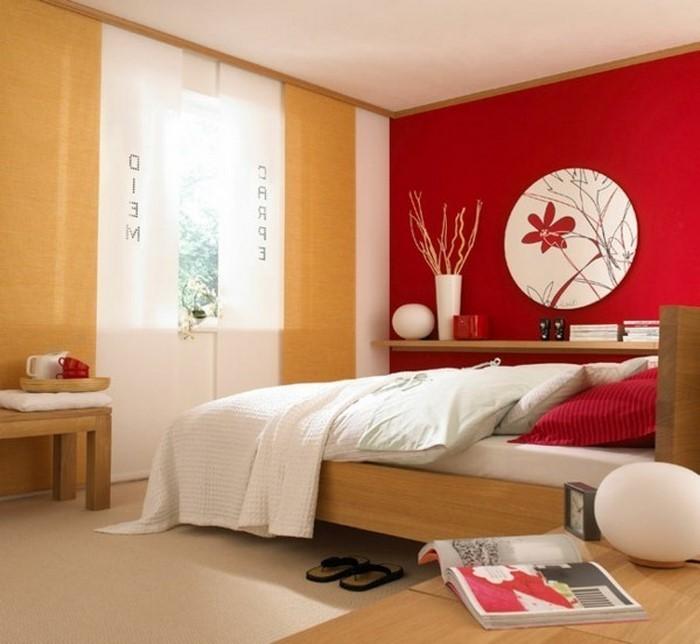 Rotes-Schlafzimmer-Design-Eine-auffällige-Entscheidung